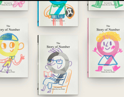 Story of Number 9 - Illustrated story book