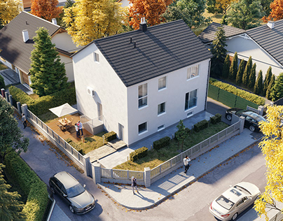 Wildbadgasse project | House exterior