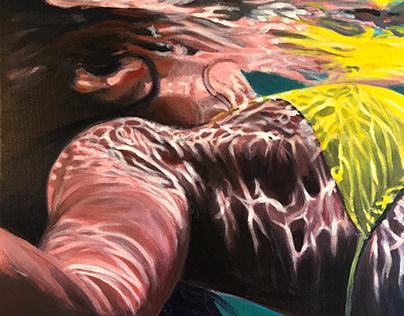 Ocean Paintings 2018