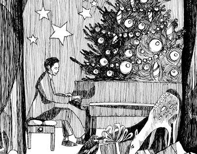 Boże Narodzenie - ilustracja okolicznościowa