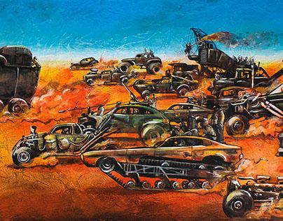 mad max: fury road painting