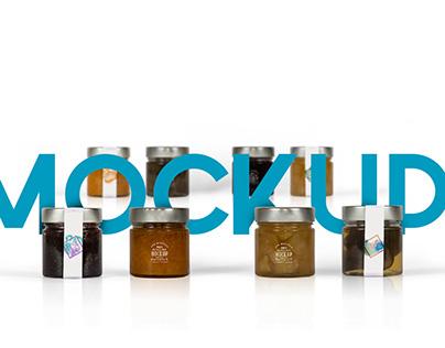 Jar Packaging Mockup Pack & Free Mockup