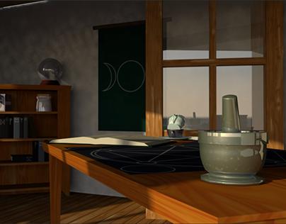 Witch's Workroom