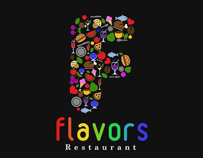 Flavors Restaurant Branding