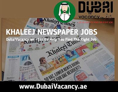 Khaleej Times Jobs
