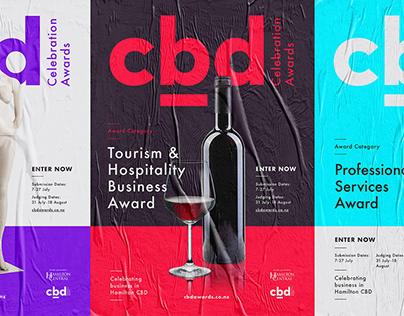 Branding: CBD Celebration Awards