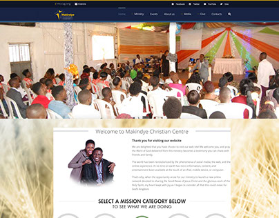 Makindye Christian Centre website