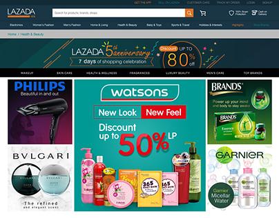 Banner Ads Lazada
