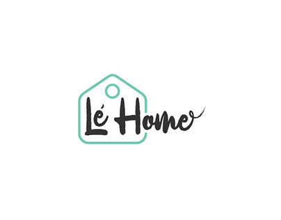 "Logo for home accessories shop - ""Le Home"""