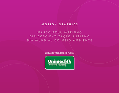 Motion Graphics Unimed - Datas comemorativas