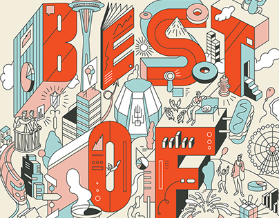 Jewish In Seattle Magazine - ''Best Of'' Issue