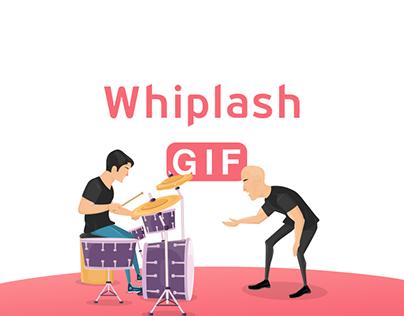 Whiplash movie animation