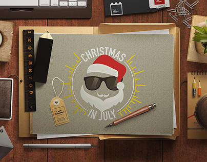 Christmas in July, commercial web campaign - Groupon.