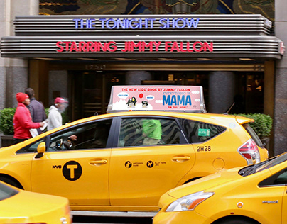 Jimmy Fallon —Everything is MAMA — taxi tops
