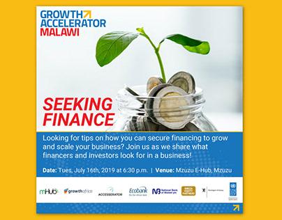 Identity design for Growth Accelerator Malawi