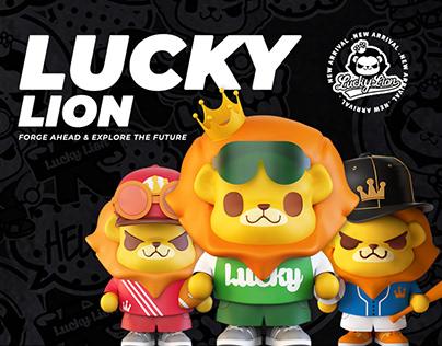 LuckyLion Cartoon Original Brand &Moscot IP Design