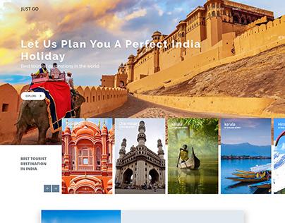 Travel Agencies website For just go