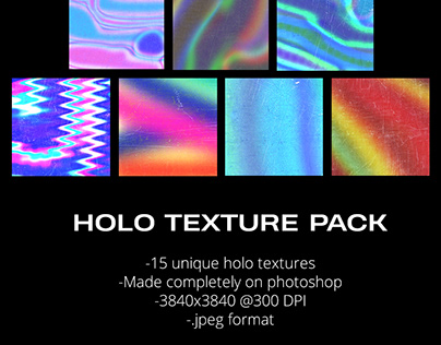 HOLO TEXTURE PACK
