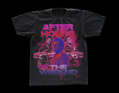 The Weeknd - After Hours Retro Design