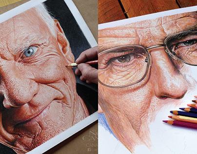 Colored Pencils Portraits
