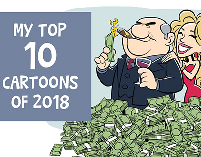 My Top Ten Cartoons of 2018