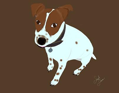 Doggo Illustration 1: Dungee