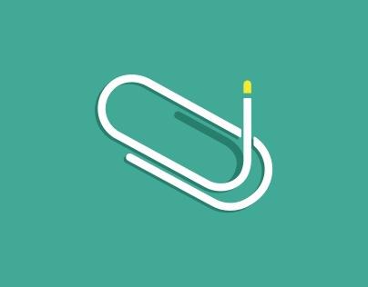 简洁文化用品logo