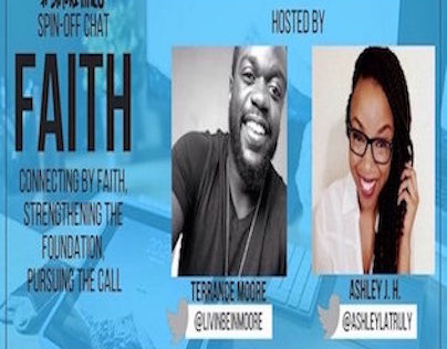 #blkcreatives Faith spin-off Twitter chat 3/15