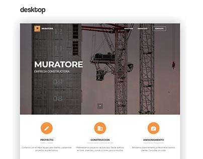 Muratore - Responsive Web Design