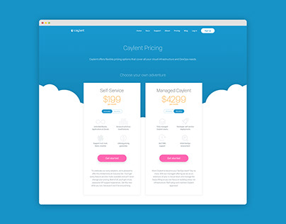 Caylent pricing page