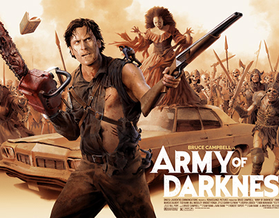 Army of Darkness Screen Print