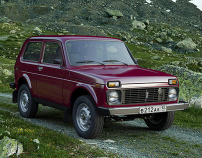 VAZ-21213 Lada 4x4