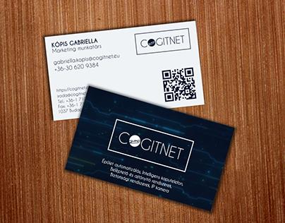 Cogitnet Kft. logo, business card