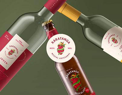 Branding Mezcal Xaratanga