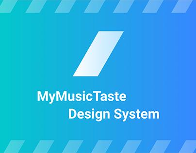MyMusicTaste Design System