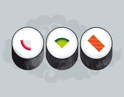 Sushi Bar. Branding