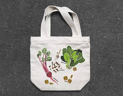 Tote bags for healthy eating