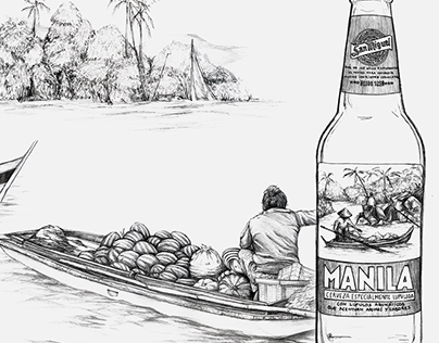 San Miguel Manila | Illustrations