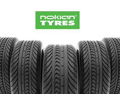Nokian tyres. Billboard