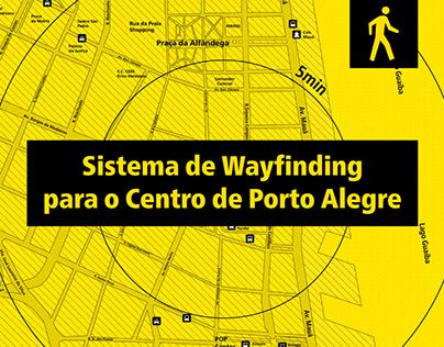 Sistema de Wayfinding para o Centro de Porto Alegre