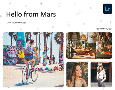 Free Lightroom Preset Every Day - Hello from Mars