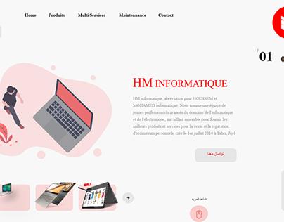 HM INFORMATIQUE Store