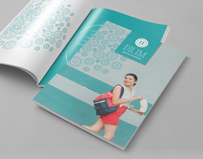 Identidade Visual e Editorial de Moda DILIM