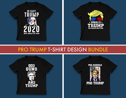 Trump T-shirt Design Bundle