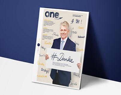 Lufthansa One Magazine
