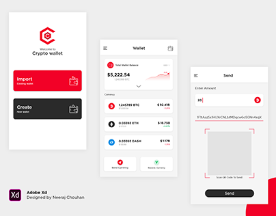 UI Crypto Wallet