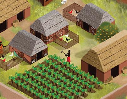 O vilarejo de Umófia