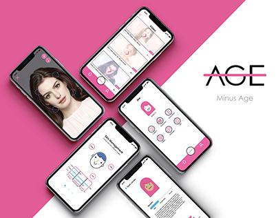 Minus age App Design