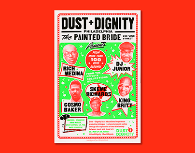 SP16 Globe Printernship : Dust + Dignity Poster