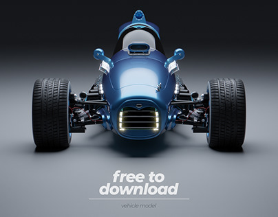 1982 Project | Vehicle Model | Free to Download